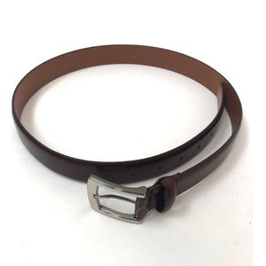 Italian leather belt men's size 34